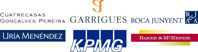 Cuatrecasas, Garrigues, KPMG, Roca Junyent, Baker & McKenzie