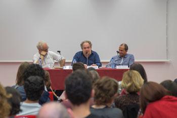 Mathias Énard en la inauguración del Máster en Creación Literaria