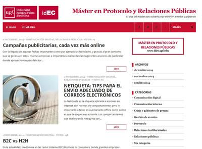 Blog Máster en Protocolo y RRPP