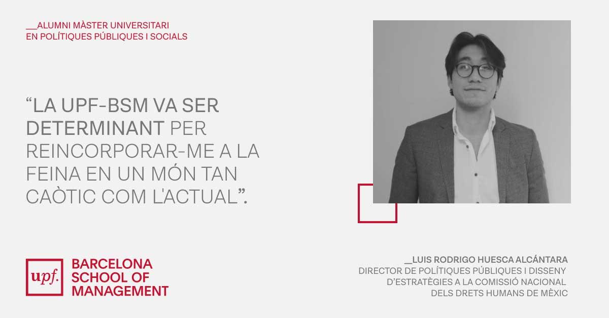 Luis Rodrigo Huesca Alcántara