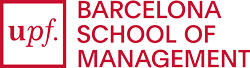 UPF Barcelona School of Management logo RED Positive