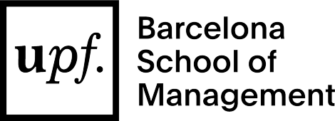 UPF Barcelona School of Management logo BLACK positive