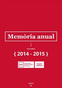 Memòria 2014-15