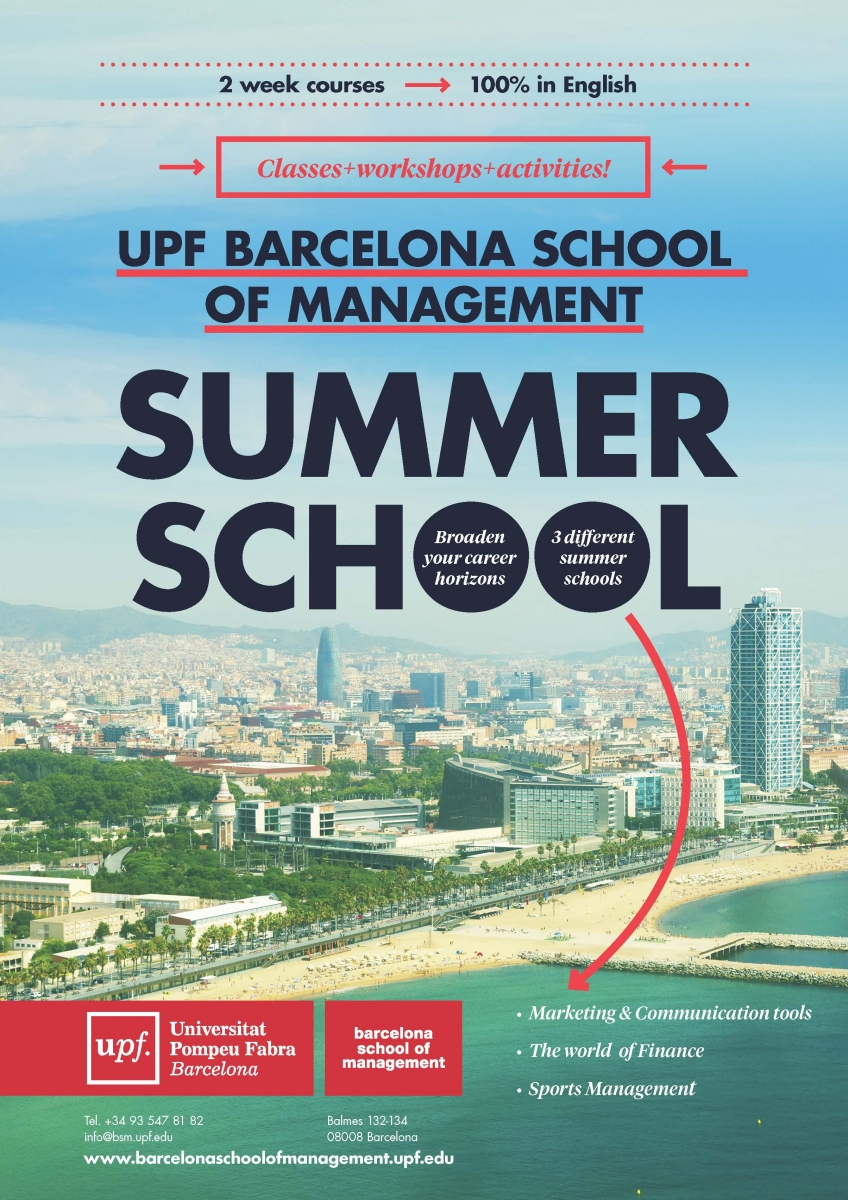 Sports Management, Marketing and Finance specialties Summer School